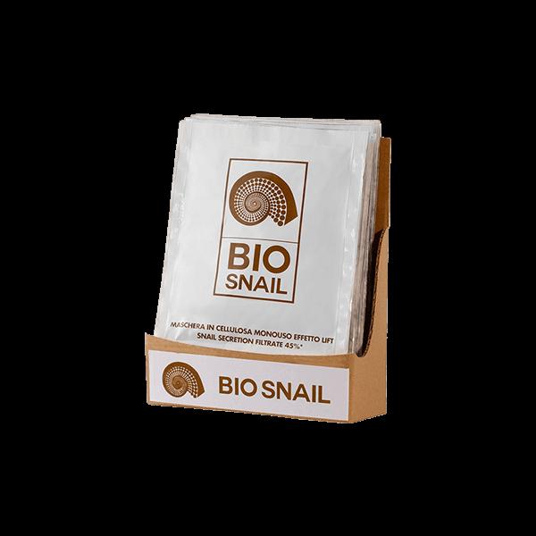 Bio Snail - Maschera Viso in Cellulosa Effetto Lift 45% Snail Secretion Filtrate