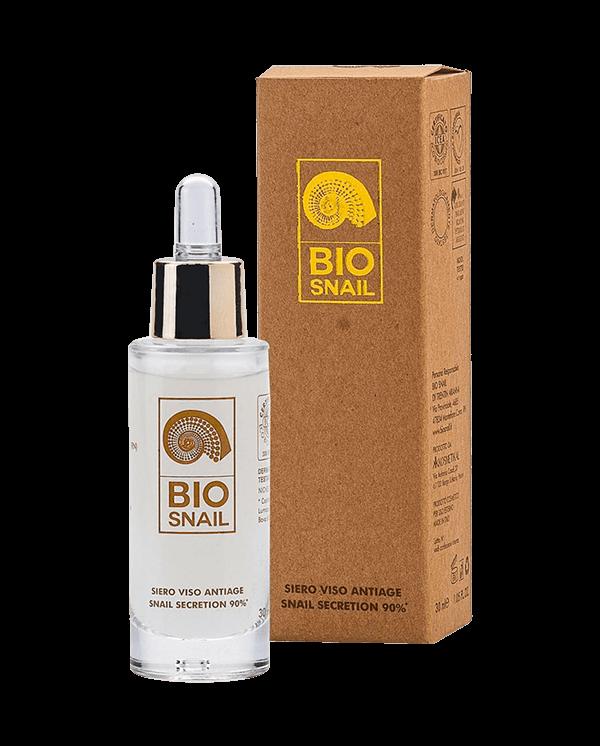 Bio Snail - Siero Viso Antiage 90% Snail Secretion Filtrate